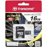 Transcend microSDHC Ultimate UHS-I U1 Class 10 16GB (TS16GUSDHC10U1)