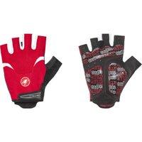 Castelli Arenberg Gel Glove red/white