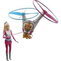 Barbie Star Light Adventure Doll & Flying Cat