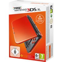 Nintendo New 3DS XL orange black