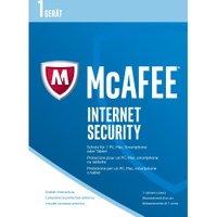 McAfee Internet Security 2017 (1 Device) (1 Year)