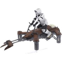 Propel Star Wars 74-Z Speeder Bike Battling Quadcopter