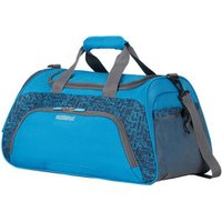 American Tourister Road Quest Travel Bag blue star print