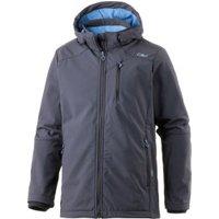 CMP Men Softshell Jacket Zip Hood (3A40537) Antracite/River