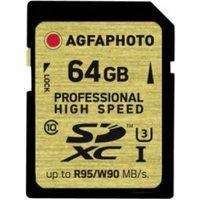 AgfaPhoto SDXC Professional High Speed UHS-I U3 64GB (10601)