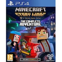 Minecraft: Story Mode - A Telltale Games Series - The Complete Adventure (PS4)
