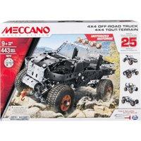 Meccano 25 Models Set - 4x4 Off-Road Truck