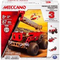 Meccano Rescue Squad 3 Model Set