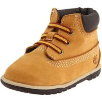 Timberland Crib Bootie with Hat wheat