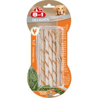 8in1 Delights Twisted Sticks Chicken