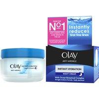 Olay Anti-Wrinkle Instant Hydration Night Cream (50ml)
