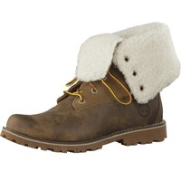 Timberland Authentics 6-Inch WP Faux Shearling brown