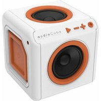 Allocacoc audioCube Portable white/orange