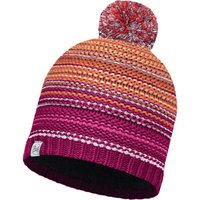 Buff Knitted & Polar Hat Nepper red samba/grey vigoré