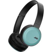 JVC S30BT Over Ear Bluetooth Wireless Foldable Headphones with Dynamic Deep Bass Boost - Blue