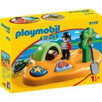Idealo ES|Playmobil 1.2.3 - Isla Pirata (9119)