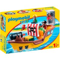 Idealo ES|Playmobil 1.2.3 - Barco Pirata (9118)