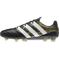 Adidas Ace 16.1 FG Men Leather core black/white/gold metallic