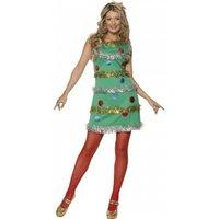 Smiffy's Christmas Tree Dress L (36992)