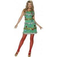 Smiffy's Christmas Tree Dress S (36992)