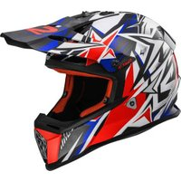 LS2 MX 437 Fast Strong white/red/blue
