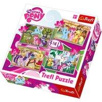Trefl My Little Pony 4 in 1