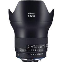 Zeiss Milvus 18mm f2.8 ZF.2