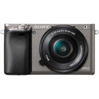 Sony Alpha 6000 Kit 16-50mm Graphit