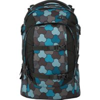 ergobag Satch School Backpack Ocean Flow