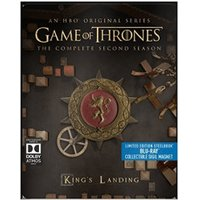 Game of Thrones - Season 2 (Limited Edition Steelbook with Collectible Magnet) [Blu-ray] [Region Free]