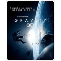 Gravity - Limited Edition Steelbook [Blu-ray 3D + Blu-ray] [2014] [Region Free]
