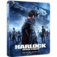Harlock Space Pirate Collectors Edition Steelbook 3D/2D [Blu-ray]