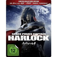 Space Pirate Captain Harlock 3D Limited Collectors Edition (Steelbook)