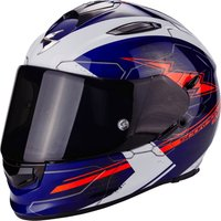 Scorpion Exo-510 Air Cross white/red/blue