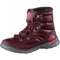 The North Face Thermoball Lace II Women shiny deep garnet red/calypso coral