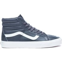 Vans Women's Leather Sk8 Hi-Top Trainers - Oxford/Drizzle - UK 4 - Grey