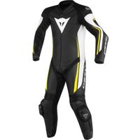 Dainese Assen 1pc black/white/yellow