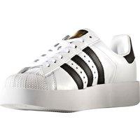 Adidas Superstar Bold Platform W footwear white/core black/gold metallic