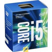 Intel Core i5-7400 BOX WOF (Socket 1151, 14nm, BX80677I57400)