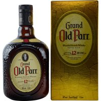 Grand Old Parr 12 Years Old 1l 40%
