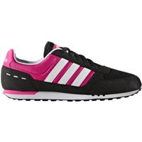 Adidas NEO City Racer W core black/white/shock pink
