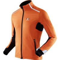 X-Bionic Running Spherewind Light Jacket orange/black