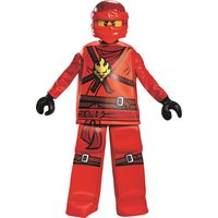 Disguise Lego Ninjago - Kai Prestige Kids Custome