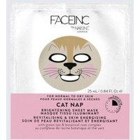 Nails Inc. Face Inc Cat Nap Sheet Maske