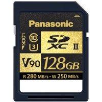 Panasonic SDXC UHS-II V90 - 128GB (RP-SDZA128AK)