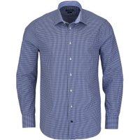 Tommy Hilfiger Slim Fit Karo dark blue (TT67870362/425)