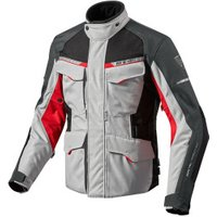 REV'IT! Outback 2 Jacket silver/red