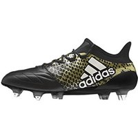 Adidas X 16.1 SG Leather core black/footwear white/gold met.