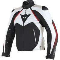 Dainese Hawker D-Dry Jacket black/white/red