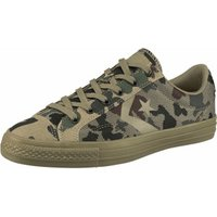 Converse Star Player Camo Knit Ox - jute/herbal/black